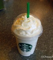 Starbucks Grande Vanilla Bean Frappuccino