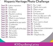 #31daysbeingLatino