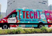 Perot Museum Tech Truck Visits GMS