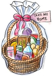 Fundraising baskets - Family Movie Night