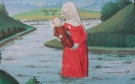 The Lady of the Lake. (His Mother)