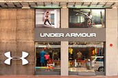 Here is are Under Armor store.