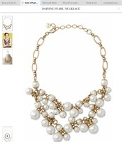 Daphne Pearl Necklace