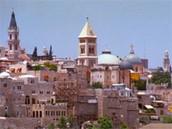 a skyline of Jerusalum