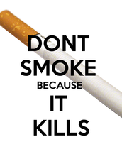 dont smoke the life of danger
