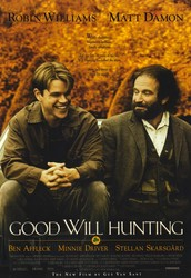Watch Good Will Hunting on Friday at 9:30!