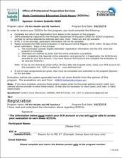 SCECH Information