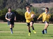 Bilateral de Rugby 3º y 4º Básicos Mackay vs. Grange