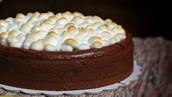 S'more cake!!