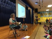 Ms. Pearlman Leads The Panthers In A W.A.R.P. Wednesday Assembly Read Aloud!