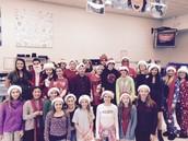 8th Grade Santas