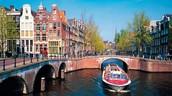 Cuando era joven visitaba Amsterdam.