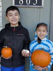 We've got pumpkins!