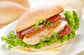 Grilled Honey Lime Chicken Sandwich