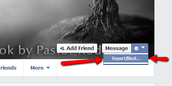Facebook Report button