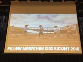 We are kicking off Marathon Kids at Pillow this a.m.! Time to start logging those miles!