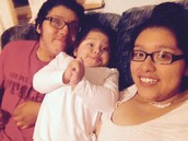 me my sister and older sisters baby