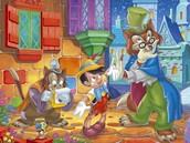 """Honest"" John Wortington the fox and Down-at-heel cat named Gideon"