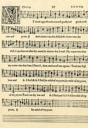Psalmes, Sonets, and Songs of Sadness and Pietie (pity)