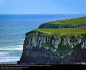 Brazil ocean cliff