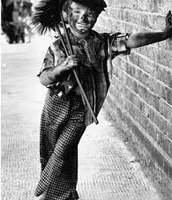 A boy as a chmney sweeper