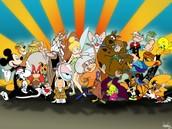 Me fascinaba los dibujos animados.