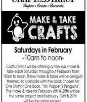 Crafts Direct Penguin crafts