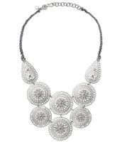 *SOLD CH*  Medina Bib Necklace - $50