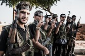 The Free Syrian Army and other rebel groups