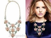 FLEURETTE STATEMENT NECKLACE $69 (65% OFF)