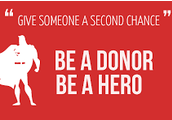 Just one organ donor can save up to 8 lives!