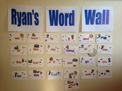 Word Wall at Home