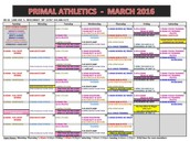 View a clearer version of our schedule here!