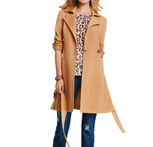 Casablanca Trench, Ginger Top