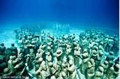 Underwater Sculptures Honoring Slaves Thrown Overboard