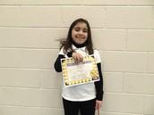 Aniyah Gonzalez - First Grade