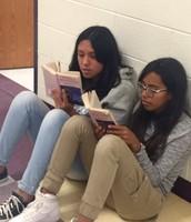 Instilling the love of reading!