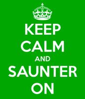6/19, World Sauntering Day