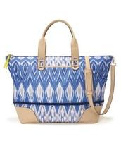 Getaway Bag Indigo Ikat $69