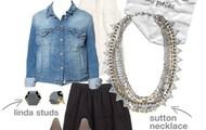 Sutton necklace - wear 5 ways if not 6 ways