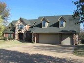 Spacious Edmond Home on 7 Acres with 1/2 Acre Pond.