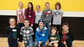 5th/6th grade Math Meet team