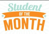 April Students of the Month!