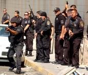 Officers found an illegal speakeasy