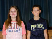 4th Grade District Spelling Bee Participants
