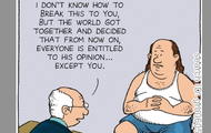 Freedom of Speech Cartoon