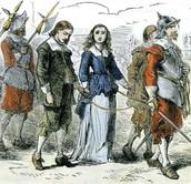 Quaker and Puritan interaction
