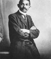 Gandhi before