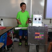 """Andrew's Amazing Shelebration Prop for """"My Robot"""""""