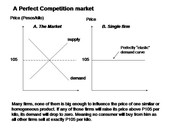 Perfect competition chart